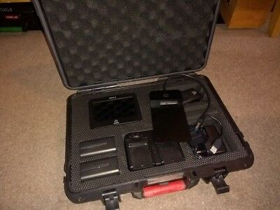 Atomos Ninja 2 Recorder with Atomos Hard Case and extra batteries