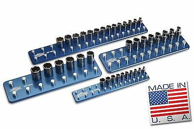 Metric Billet  Socket Organizer Set Tool Holders Trays