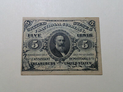 1863 5 Cent Fractional Currency High Grade   Bcf24