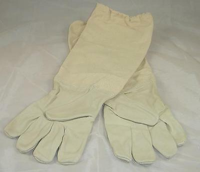 Beekeeping Gloves (Large L) - Leather - Beehive - Hive Clothing