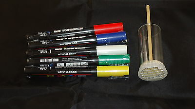 Queen Marking Kit - Set - Pen And Large Queen Plunger  - Rearing Bees