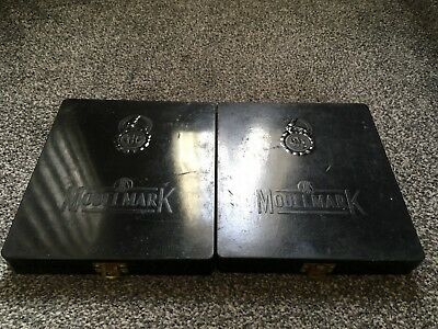 Vintage Modelmark Steel Type Letter/Number Stamp Set x 2