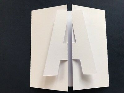 Scanncut Letter Cards Cutting Files Download