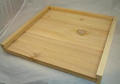 Solid Cedar Floor - National Beehive - Beekeeping - Hive - Bee Floor Assembled
