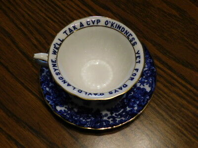 Vintage Wedgwood Tea Cup And Saucer