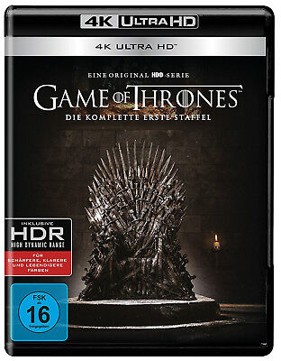 Blu-ray - Game Of Thrones - Season / Staffel 1 - 4 K - 4 Discs
