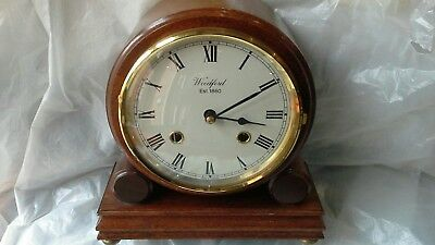 8 Day Musical Mantel Clock Striking On 2 Gongs