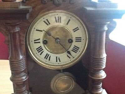 Antique Bracket Clock By HAC of Germany