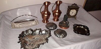 Job lot of vintage metal items ( from house clearance