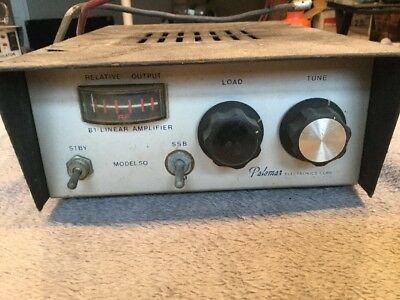 Palomar Electronics Bi-Linear Amplifier Ham Radio Amp. Model #50