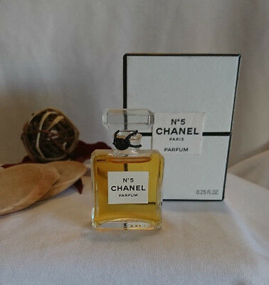 "🌟FLAKON CHANEL "" N°5 ""  7,5 ml PARFUM mit BOX"