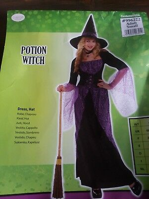 Halloween Costume Potion Witch small adult