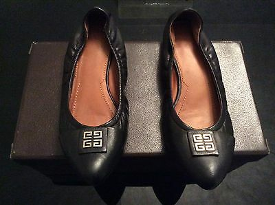 Givenchy Ballerine N. 39 Colore Nero In Pelle