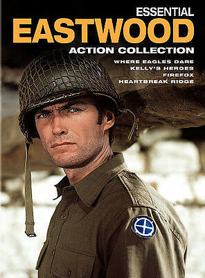 Essential Eastwood: Action Collection (DVD, 2010, 4-Disc Set) Clint Eastwood