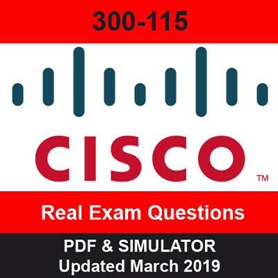 CISCO CCNP 300-115 Exam questions - PDF & Simulator Download
