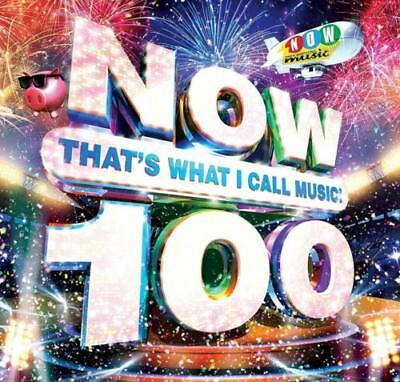 NOW THAT'S WHAT I CALL MUSIC 100 Brand new CD -2 DISC- Free and Fast Dispatch