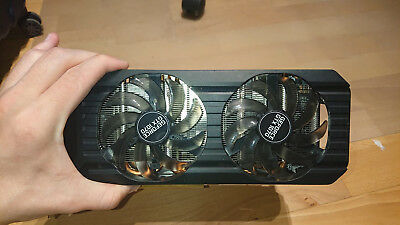 Palit GeForce GTX 1070 Dual 8GB GDDR5 Nvidia Grafikkarte *DEFEKT*