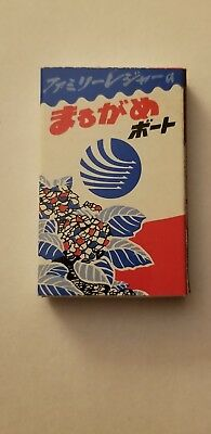 Matchbox With Wooden Matches From Japan? Very Colorful.