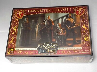 Lannister Heroes I 5 Miniaturen A Song of Ice and Fire Game of Thrones Tabletop