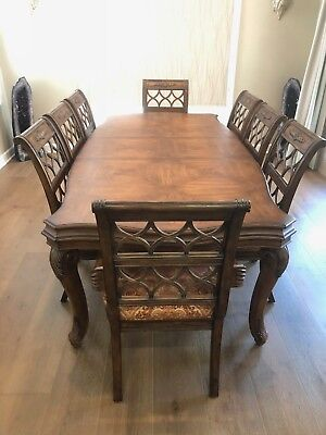 Drexel Heritage Talavera Dinning Set, With 8 Chairs