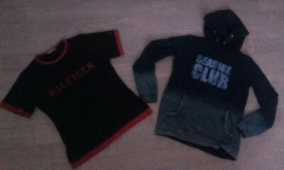 lot garcon 14ans sweat haut marque Tommy Hilfiger Jungle Style