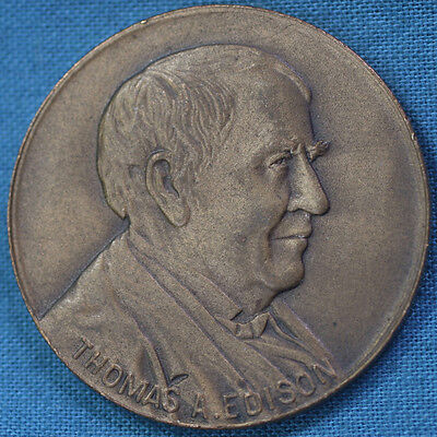 1947 Thomas A. Edison Centennial Commemorative Medallion