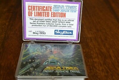 Star Trek Deep Space Nine.LIMITED EDITION. Premiere Collector Cards 1993 SkyBox