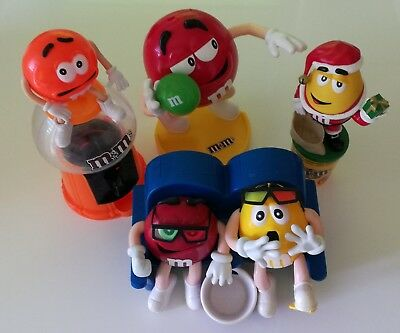4 M&M´s Spender Yellow, Red, Orange 3D Kino