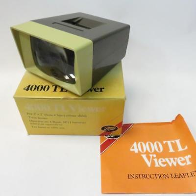 Vintage Boots 4000 TL Slider Viewer with Bo and Instruction - Working Condition.
