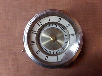 Vintage Ford Westclox Antique Auto / Car Clock  (late 1920's / early 1930's)