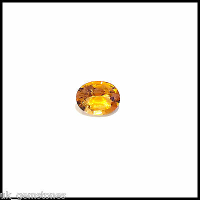 Natural Oval Imperial Zircon 1.82ct  VVS, Single Stone.
