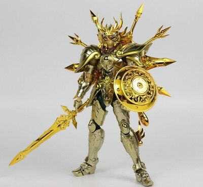 Saint Seiya Myth Cloth EX Dohko de Libra Soul of Gold, CS Models, Metal Gold