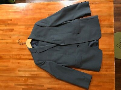 JOSEPH & FEISS Boys Classic Gray 2 Btn Suit Charcoal Pants Jacket Blazer Size 16