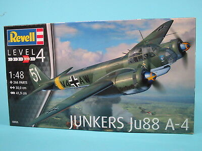 Junkers Ju 88 A-4, 1:48, Revell 03935
