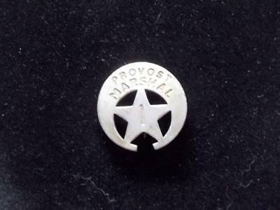 Provost Marshal Badge Crescent Cut-Out Star Head Of Military Camp Lawman Law