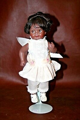 Artist Reproduction Antique African American J.D. Ketsner 221 Googly Eyed Doll