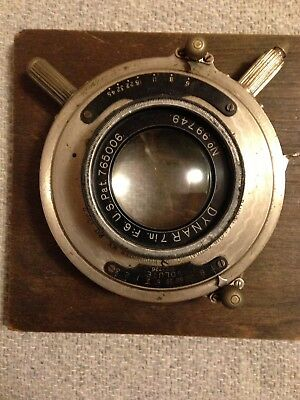 Vintage Bausch & Lomb Optical Co. Lens - Dynar  7 in. - #99749