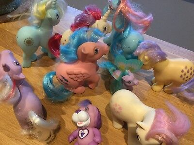My Little Pony Konvolut Vintage G1 - Hasbro