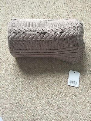 BNWT Mothercare Baby Knitted Blanket