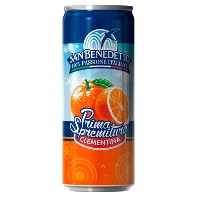 San Benedetto Clementina 24 x 330ml - FREE DELIVERY