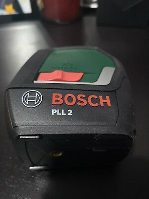 Bosch PLL 2 Cross Line Laser with Digital Display