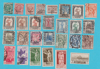 ITALIAN COLONIES LIBYA MH & USED STAMPS  . lot#278