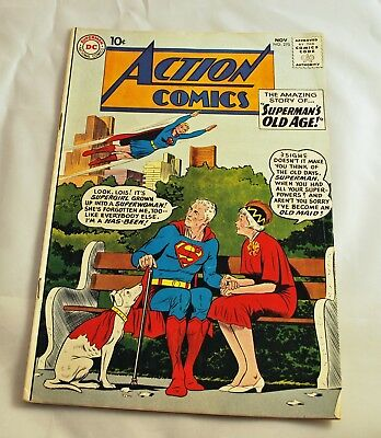 DC Comics - Silver Age Action Comics #270 Superman's Old Age w/ Supergirl (1960)