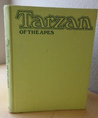 Tarzan of the Apes Burne Hogarth adapted Burroughs comic illustrated 1972 First