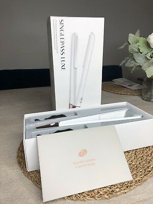 """T3 Singlepass Luxe 1"""" Professional Straightening And Styling Iron Model 76505 ~!"""
