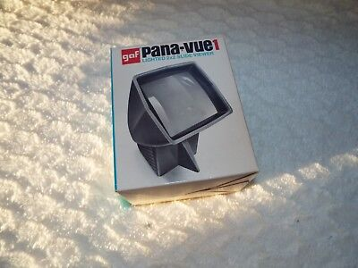 GAF Pana-Vue1 2 x 2 Lighted 35mm Film Slide Viewer Vintage tested