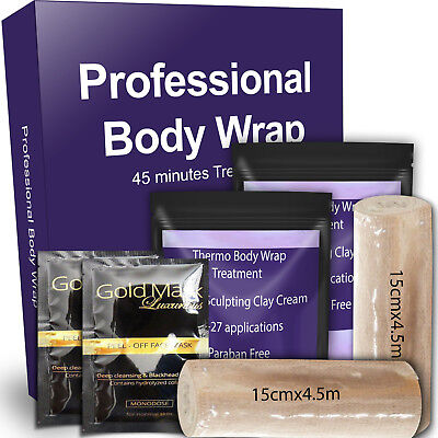 was 39.99 now 19.99 body wrap Inch Loss Wrap In 45 Mins, free gold face masks