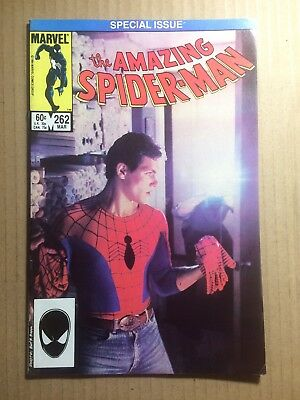 Amazing Spider-Man #262 (1985) VF/NM 9.0 - CLASSIC PHOTO COVER