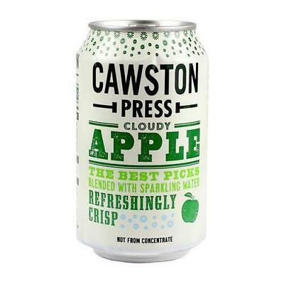 Cawston Press Sparking Cloudy Apple 24 x 330ml - FREE DELIVERY
