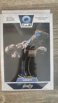 Loot Crate FIREFLY QMX QCRAFT Q-craft SERENITY Model Puzzle